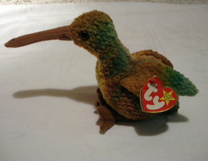 Beak the kiwi bird Ty Beanie Baby retired hc2298