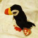 Puffer the puffin bird 1997 Ty Beanie Baby toy retired mint hc2406