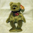 Ty Signature Bear 1999 Ty Beanie Baby toy retired mint hc2413