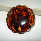 3 Large coat buttons rootbeer Bakelite for sewing, crafts 3 available excellent vintage hc2484