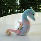 Neon the seahorse Ty Beanie Baby toy retired mint hc2522