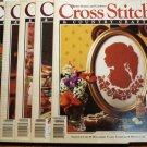 5 Cross Stitch Country Crafts BHG back issue magazines1991 hc2644