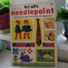 McCall's Needlepoint step by step instructions magazine 1972 vintage patterns  hc2759