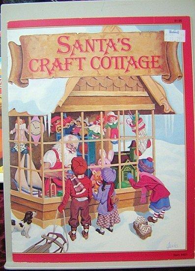 Santa's Craft Cottage mixed craft instruction magazine 1978 hc2893