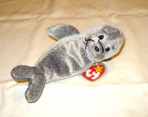 Slippery the seal 1998 Ty Beanie Baby toy retired mint hc2897