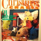 Christmas Crafts Woman's Day 91 gifts and decorations1994 vintage hc2945