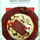 The Canadian Living Cooking Collection Great Desserts hc3236