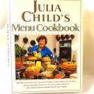 Julia Child's Menu Cookbook Wing Books 1st edition hard cover dust jacket hc3426