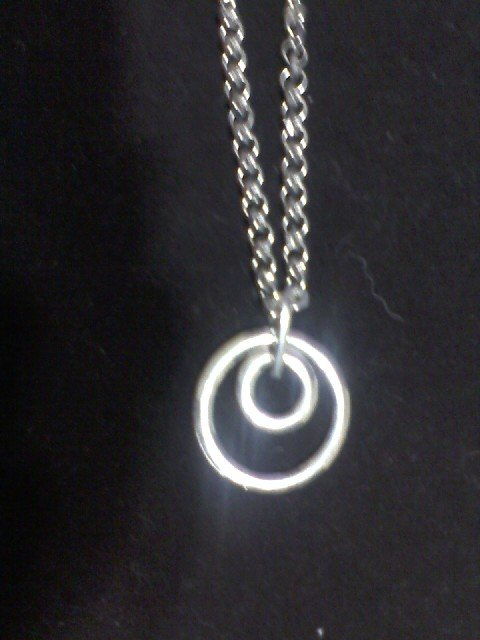 """""""Pendant on You""""  Hex Nut Hardware chain with Pendant"""