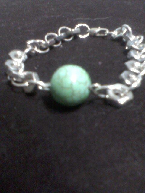 """""""Turquoise"""" Hardware Bracelet"""