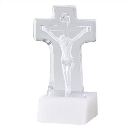 Lighted Crucifix