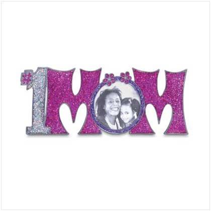 """""""#1 Mom"""" Photo Frame"""