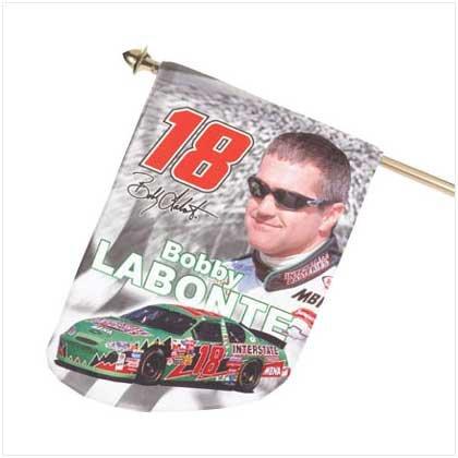 Mini Bobby Labonte Flag