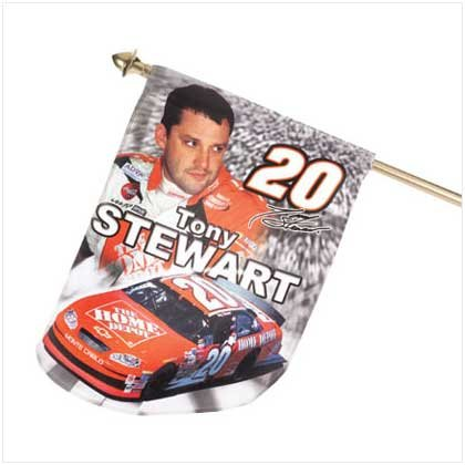 Mini Tony Stewart Flag