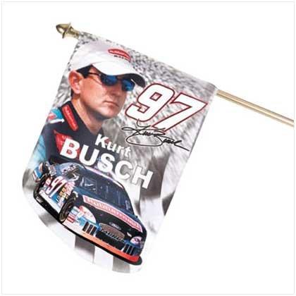 Mini Kurt Busch Flag