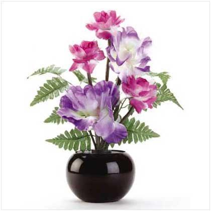 Lit Floral Bouquet