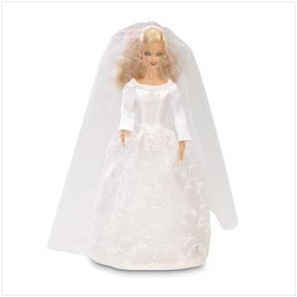 Bride Fashion Doll