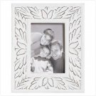 5x7 Inch White Distressed Frame
