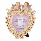 Heart-Shaped Cherub Photo Frame