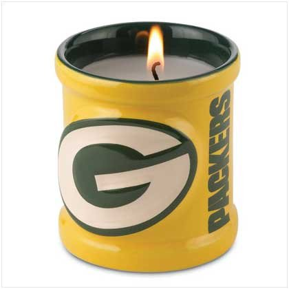 Green Bay Packers Candle