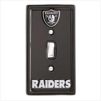 Oakland Raiders Switchplate