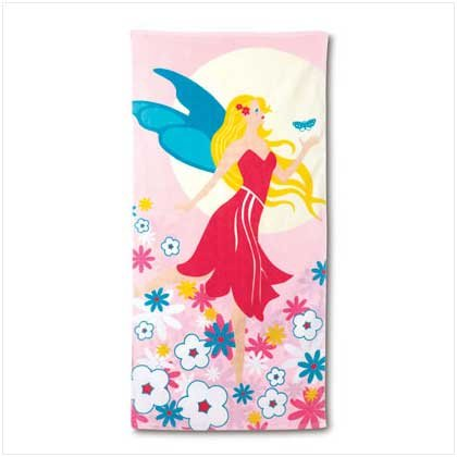 Fairy Design Beach Towel