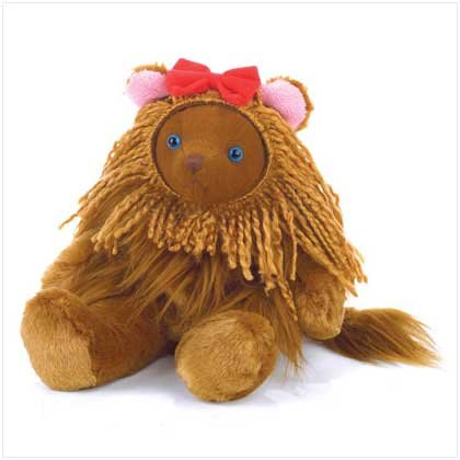 Cowardly Lion Bear Beanbag