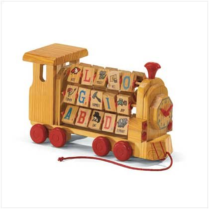 Alphabet And Number Blocks Train