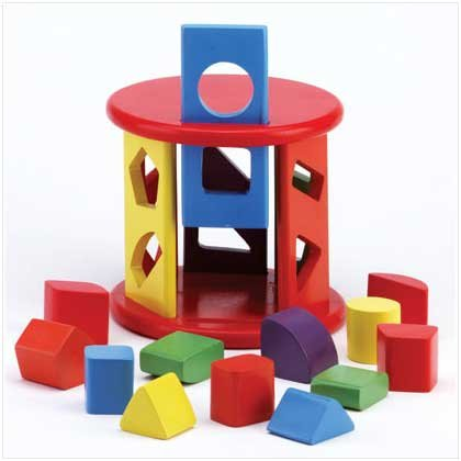 Sorting Toy Shapes