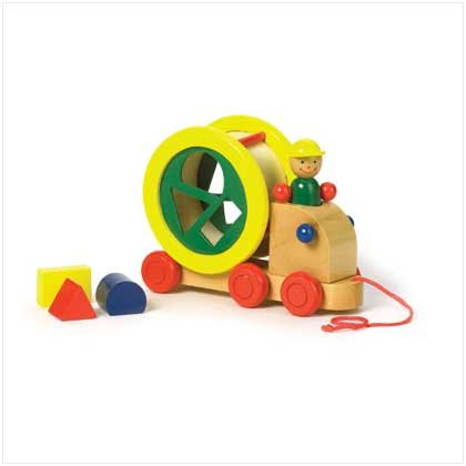 Wooden Construction Play Truck
