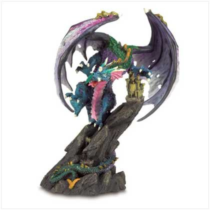 Fierce Dragon Figurine