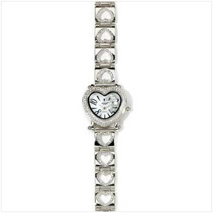 Diamond's Heart Watch