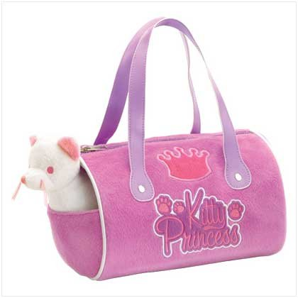 Kitty Plush Carrier