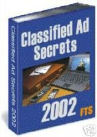 Classified Ads Secrets 2003 Resellers Package