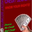 Credit Secrets 2003 Resellers Package