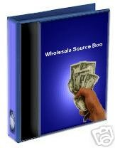 Wholesale Sources 2003 Resellers Package