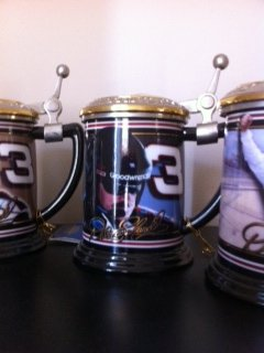 DALE EARNHARDT RACING COLLECTOR MUGS