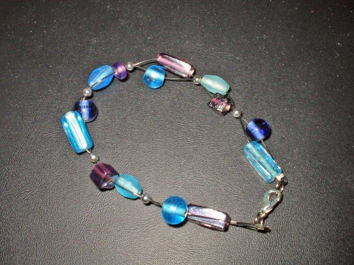 Cluster Blue bracelet