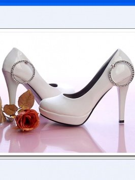 Diamond Circle High Heel sz 4.5-7 (cd11051552)