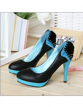 Bowknot Back High Heels sz 4.5-7 (CD11050702)