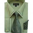 Mens Olive/Green Dress Shirt (SG22Olive-H)