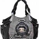 Betty Boop fashion handbag w/ matching wallet B11K-35_BK/WH