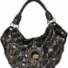 Betty Boop fashion handbag w/ matching wallet BB206C-1294_BK