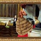 Azawakh Fine Art Canvas Print - Intermezzo in the Theater