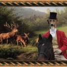 Azawakh Fine Art Canvas Print - Master of Hunt