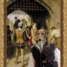 Azawakh Fine Art Canvas Print - The City Gate