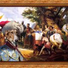 Chart Polski Fine Art Canvas Print - My King