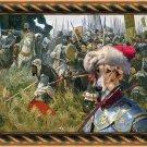 Chart Polski Fine Art Canvas Print - For glory and land