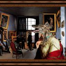 Spanish Greyhound Fine Art Canvas Print - Dealer Paintings