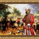 Airedale Terrier Fine Art Canvas Print - The affair cavaliers